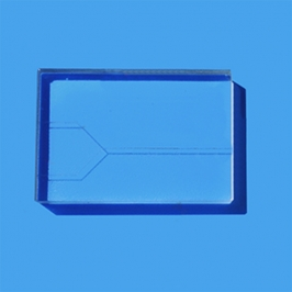 Y - type laminar glass chip