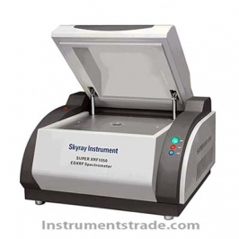SUPER XRF 1050 super X fluorescence spectrometer for analysis of harmful trace elements