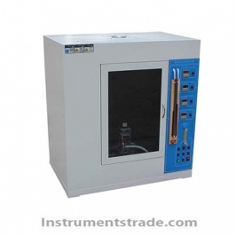 UL94 plastic vertical and horizontal burning test machine for Simulate fire risk assessment