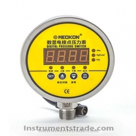 MD-S925E digital display electric contact pressure gauge for Fluid medium pressure measurement