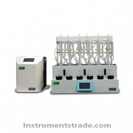 STER02+ST106-1RW intelligent steam distillation apparatus for Test sample separation and purification
