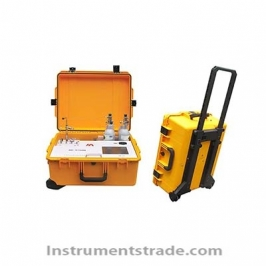 GC-9760A Transformer Oil Portable Portable Chromatograph for Transformer site analysis