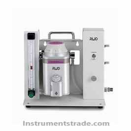 R540 enhanced small animal anesthesia machine